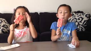 Faith And Erin Review Good Humor, Strawberry Shortcake Bar