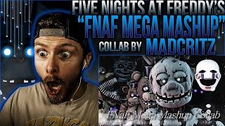 """Vapor Reacts #269   [FNAF SFM COLLAB] SONG ANIMATION """"FNAF Mega Mashup"""" by MadCritz REACTION!!"""