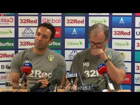 Conferencia Marcelo Bielsa (3-08-2018) previa al debut de Leeds vs Stoke City