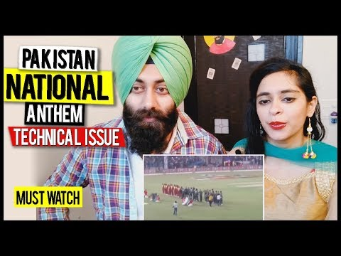 Indian Reaction on Pakistani National Anthem | Technical Issue in the Stadium