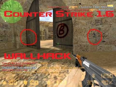 Counter strike 1.6 super simple wallhack