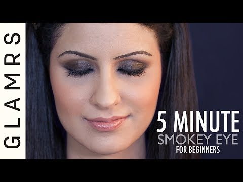 Easy 5 Minute Smokey Eye Makeup Tutorial