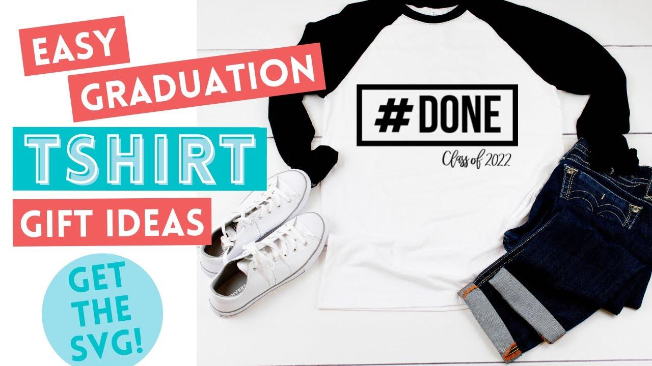 Make A Graduation T-shirt With Cricut Maker & EasyPress
