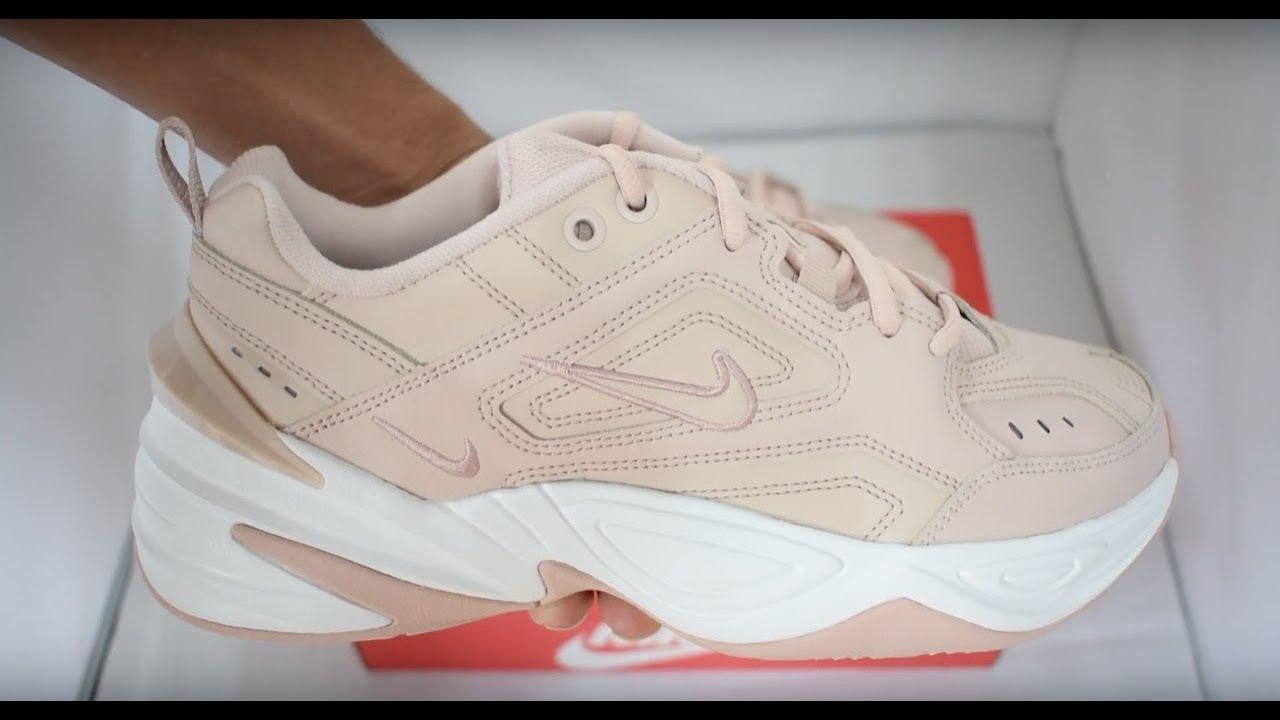 reputable site 0347a dae9c Nike M2K Tekno Vachetta Tan   Beige Unboxing