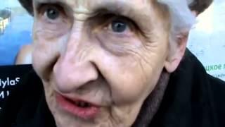 Бабушка рассказывает про свою пенсию и Путина (Не провокация, правда как есть )