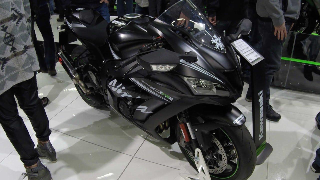 Kawasaki Zx10 Rr Krt Black Edition Snow Flake New Model 2017