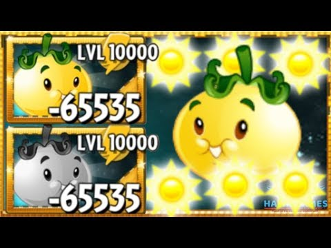 PvZ2 - Solar Tomato Upgraded to Level 10000! 🌻 (Android and iOS)