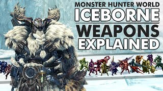 Monster Hunter World: ICEBORNE | All 14 Weapons Explained! - Which Fit Your Playstyle Best?