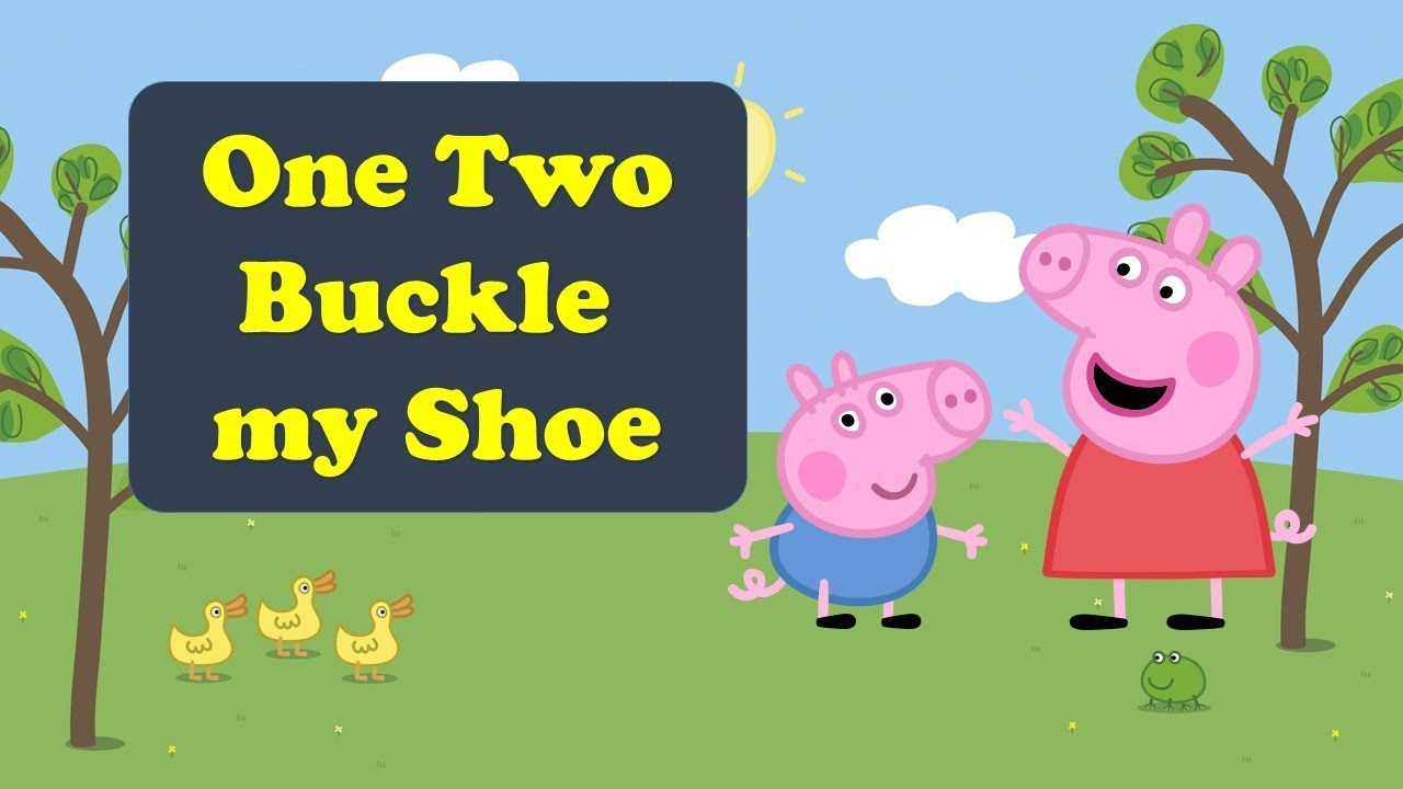 1 2 Buckle My Shoe | With Action | Nursery Rhymes ...