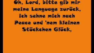 Wise Guys - Denglisch (with Lyrics)