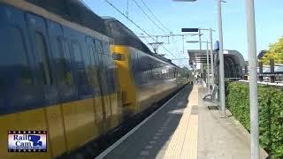 Some trains at Twello, June 1st 2019