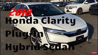 2018 Honda Clarity Plug-In Hybrid Sedan | WHITBY OSHAWA HONDA | Stock #: J0600