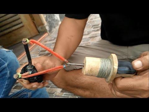 tutorial pembuatan ketapel panah