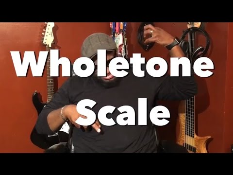 HOW TO PLAY A WHOLETONE SCALE ON BASS GUITAR | Bass Scales ~ Daric Bennett's Bass Lessons