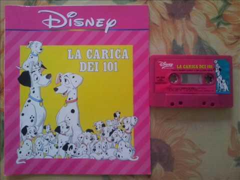 Musicassette Disney : La carica dei 101