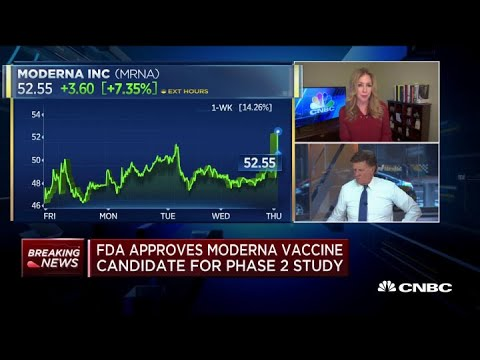 Stocks rebound Monday as Moderna's coronavirus vaccine trial ...