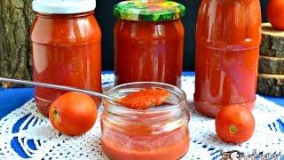 Острый кетчуп на зиму в мультиварке