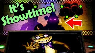 Fnaf VR: SHADOW ANIMATRONIC SHOW... I'M CRYING! (Five Nights at Freddy's: Help Wanted Easter Eggs)