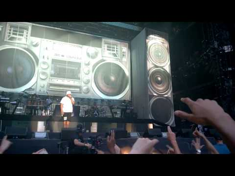 Intro - Bad Guy - Square Dance - Won't Back Down - 3AM - Eminem Live @Wembley Stadium 12/07/2014
