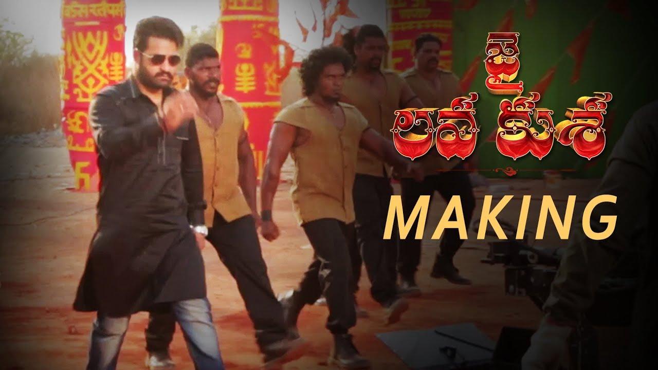 JAI Making - Jai Lava Kusa - NTR, Nandamuri Kalyan Ram | Bobby