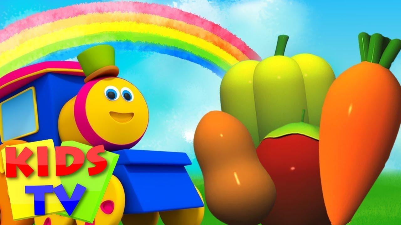 Sebze Şarkısı | Sebzelerin Isimleri | Okul öncesi | Kids TV Türkçe | Çocuklar tekerlemeler