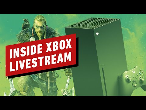 Inside Xbox - Xbox Series X Game Reveals LIVE