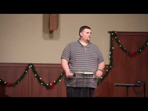 (The Visitors) Preached by Pastoral Intern Chris Andersen 12 /18 /2016