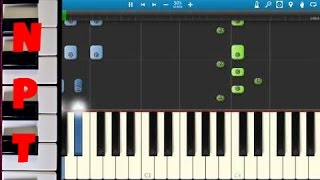 One Direction - Drag Me Down Piano Tutorial - How to play Drag Me Down - Synthesia