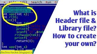 Wat is het header-bestand in c? Hoe maak je je eigen?