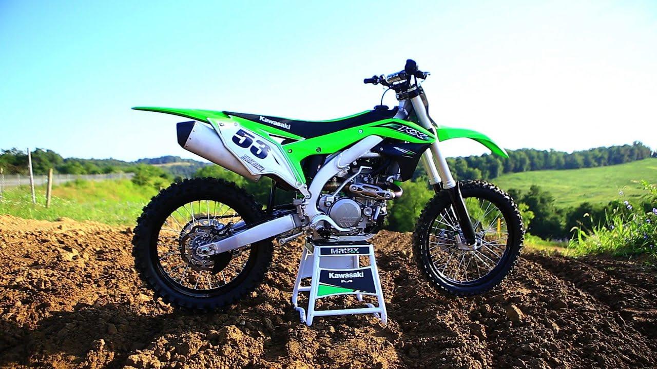 2016 Kawasaki KX450F - The 16s Dirt Bike Magazine - YouTube