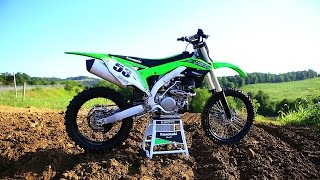 2016 Kawasaki KX450F - The 16s Dirt Bike Magazine