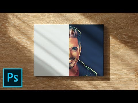Easily Create Realistic Mockups & Templates! - Photoshop Tutorial