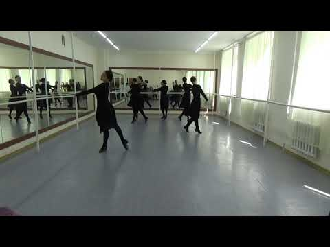 Видеоурок казахского танца