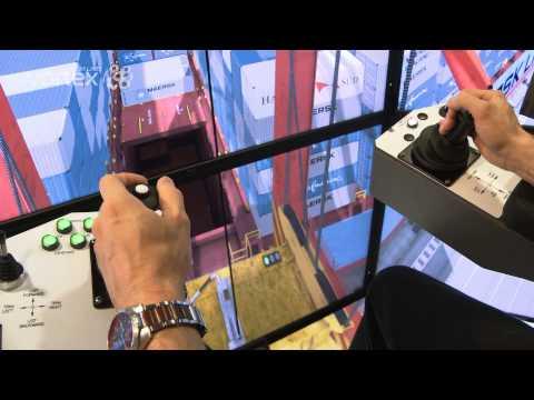 Ship-to-Shore Crane Simulator | STS Crane Simulator