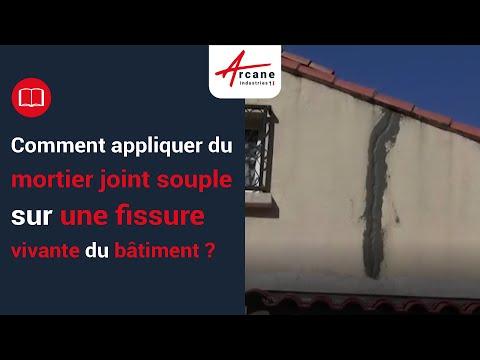 R parer des fissures jusqu 39 un demi pouce doovi for Etancheifier joint carrelage