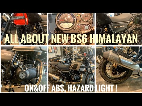2020 Royal Enfield Himalayan BS6 Vs BS4  Difference   Kannada Review   New Features  