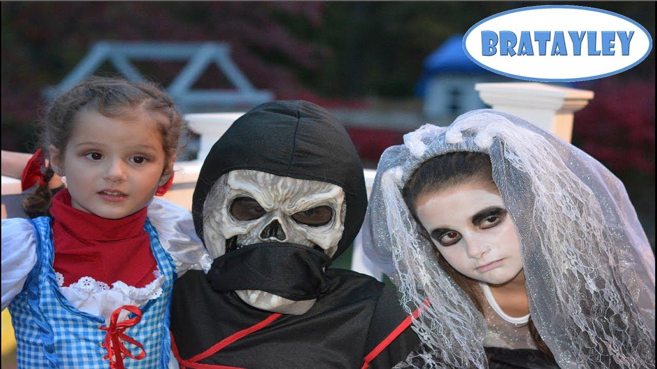 another very bratayley halloween! (wk 148.2) | bratayley - youtube