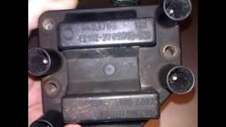 видео Модуль зажигания ВАЗ-2114- проверка, демонтаж и замена