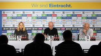 Pressekonferenz zur Vorstellung von Marco Antwerpen
