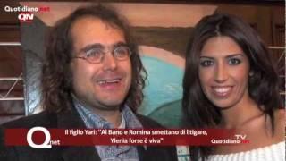 Il figlio Yari: ''Al Bano e Romina smettano di litigare, Ylenia forse è viva''