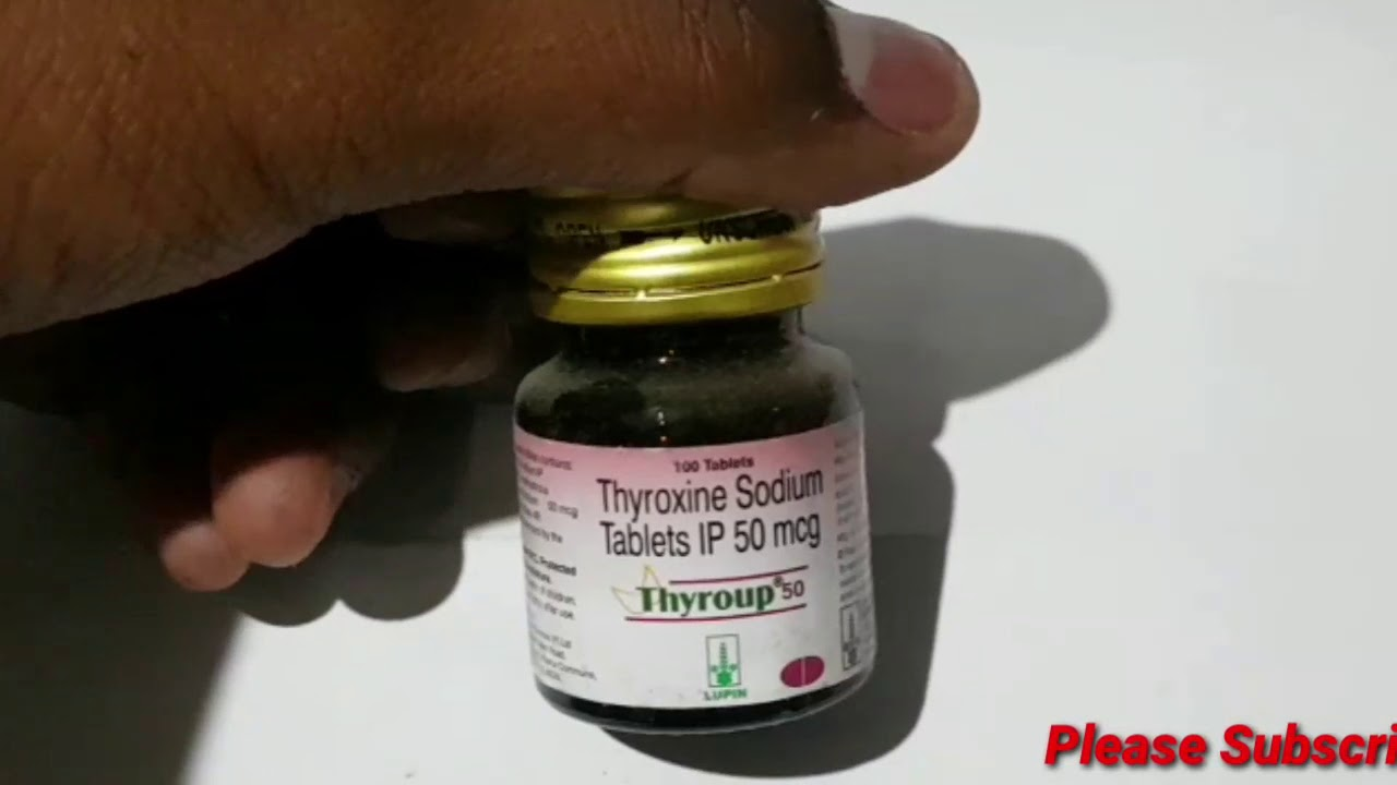 Thyroup 50 Tablet Full Review In Tamil Medicine Health Youtube