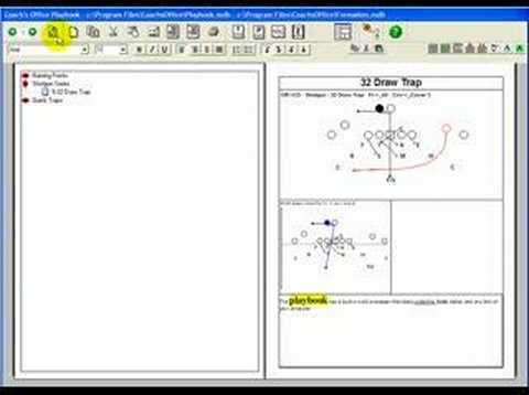 football playbook software editing word boxes youtube
