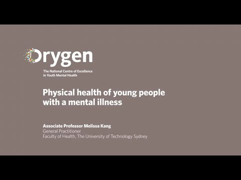 Physical health of young people with a mental illness
