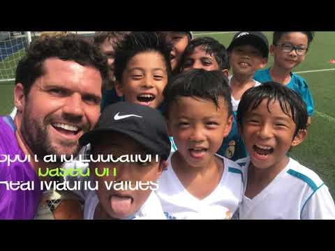 Real Madrid Foundation Football School Singapore season 2018_19
