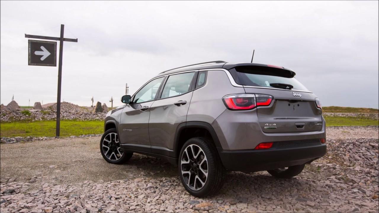 Novo 2018 Jeep Compass Com Versão Limited Diesel