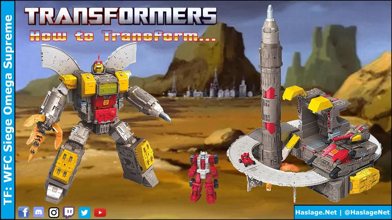 Transformers: WFC Siege Omega Supreme Review by HNE Games