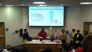 Chemistry Magic Show 2011 - Liquid Nitrogen, Helium and Sulphur Tetrafluoride
