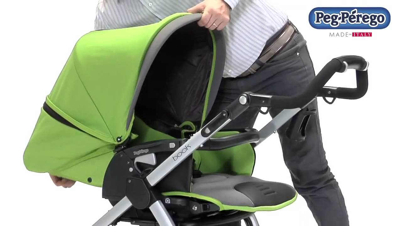 768a9e59a7c Καρότσι Peg-Perego Book Completo switch - YouTube