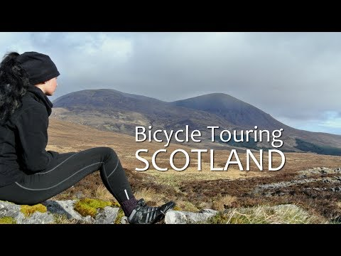 Solo Bicycle Touring in Scotland - Cycling, Camping and Hiking -