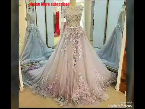 The Most Beautiful Gown Design 2017/Party wear, wedding dress ...